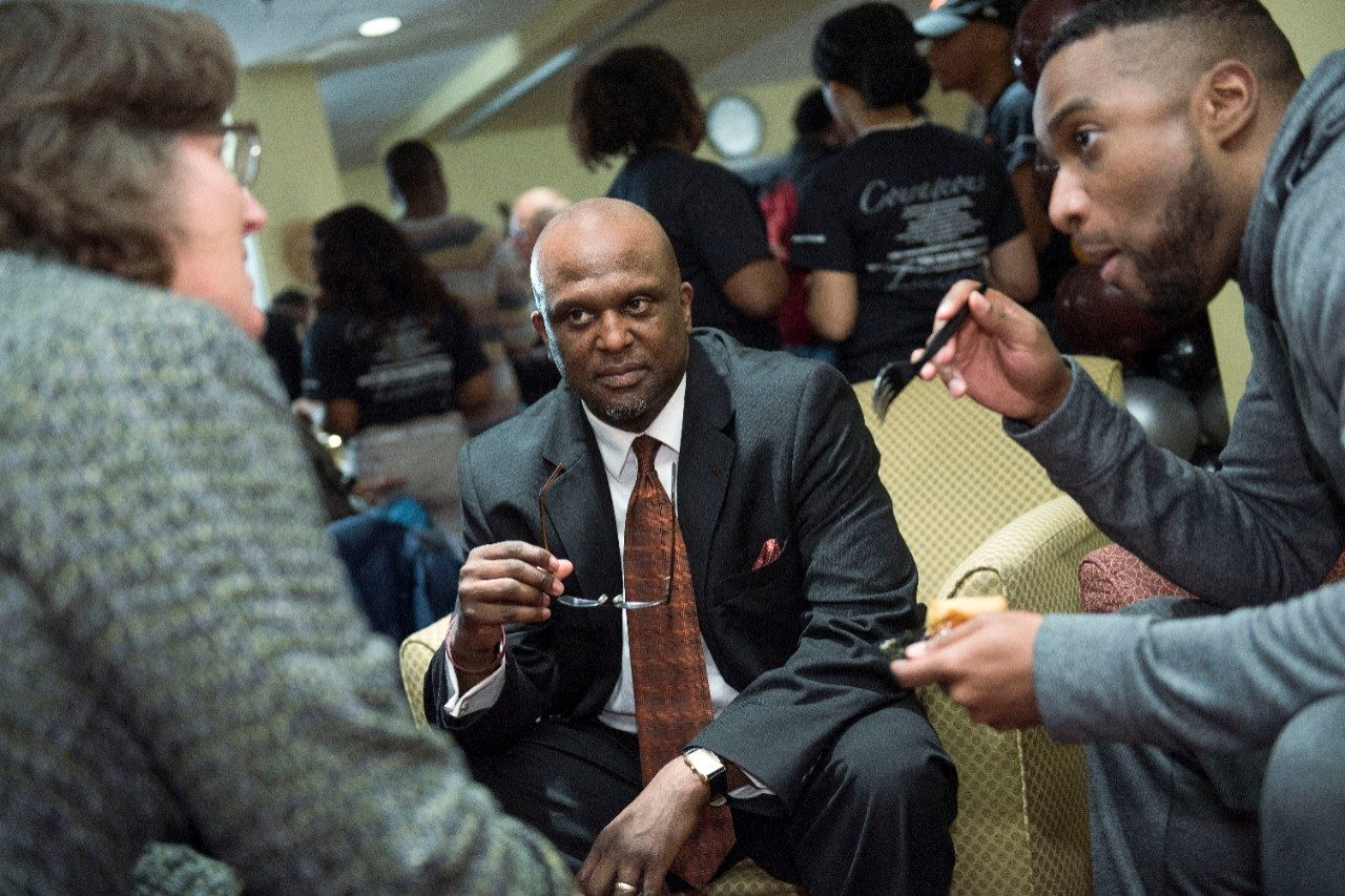 A celebration at the Black Cultural Center at Virginia Tech
